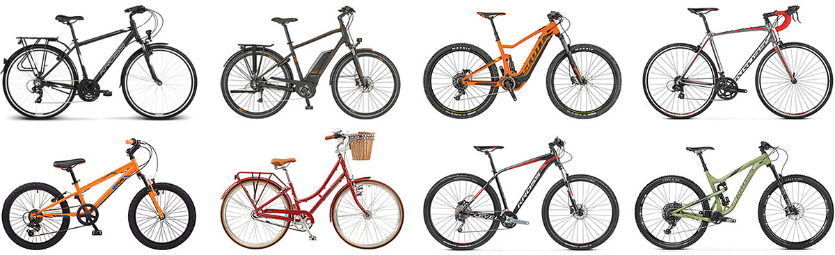 Huge range of cycles